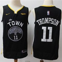 Golden State Warriors 11 Klay Thompson Swingman Jersey