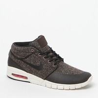 Nike SB Stefan Janoski Max Mid Sneakers - Mens Shoes - Brown