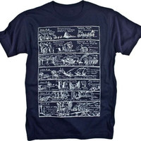 History Illustration Renaissance Vintage Graphic T-shirt