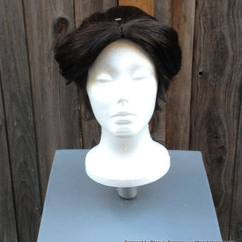 Mary Poppins Nanny Inspired Wig Screen Quality Custom Couture Styled