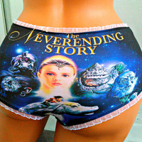 The Neverending Story Panties Lingerie underwear Galaxy Fantasy
