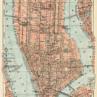 vintage map art of new york city in german and english printable art downloadable image high resolution world map poster travel map travel