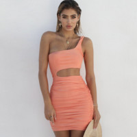 2018 Women's Sexy Bag Hip Dress