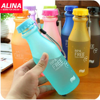 Hot 550ML Candy Color Cup My Portable Water Bottle For Outdoor Sport Travel High Quality BPA Free