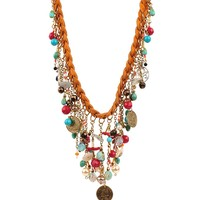 Bee Charming Jewelry Prairie Necklace - Tan
