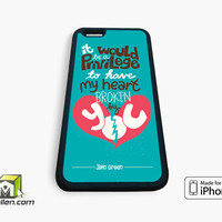 The Fault in Our Stars Tumblr Inspired Custom 2 iPhone Case 4, 4s, 5, 5s, 5c, 6 and 6 plus by Avallen