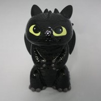 "HOW TO TRAIN YOUR DRAGON2 CERAMIC PIGGY COIN BANK 9"" TOOTHLESS ROOM DECOR NEW"