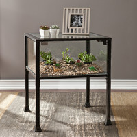 Glass House Table