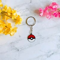 Pokémon Pokeball Keychain