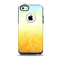 Painted Tall Grass with Sunrise Skin for the iPhone 5c OtterBox Commuter Case