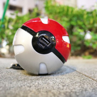 Mobile Game Cosplay Pokemon Go Pokeball 10000 Mah LED Quick phone Charger.