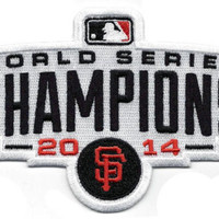 2014 World Series Champions San Francisco Giants Patch