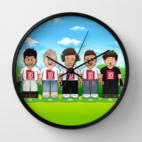 Lego: One Direction 1D Wall Clock by Akyanyme