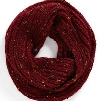 David & Young Speckled Infinity Scarf (Juniors) | Nordstrom