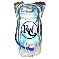 Promotional Holographic Rave Wonderland 1.5 Liter Hydration Backpack