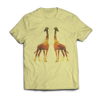 Am I seeing Double?  Nope! There is Two Long Neck Giraffes in my Driveway Tshirt