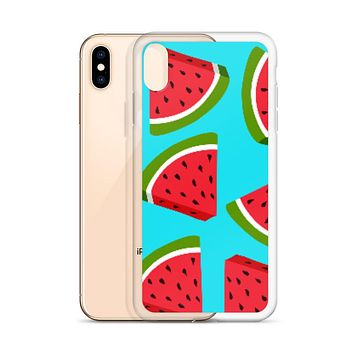 Watermelon Lovin' iPhone All Models Hard Shell Protective case