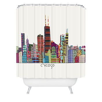 Brian Buckley Chicago City Shower Curtain