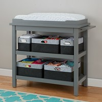 Change It Up Diaper Changing Table (Grey) in Changing Tables   The Land of Nod