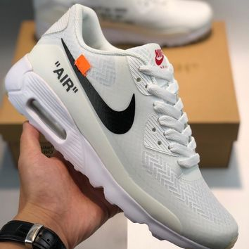 Nike Air Max 90 x Off White The 10 cheap Men's and women's nike shoes