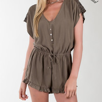Others Follow Just  A Dream Womens Lightweight Romper (CLEARANCE)