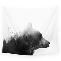 Society6 Big Bear Wall Tapestry
