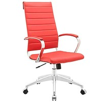 Red Jive Highback Office Chair