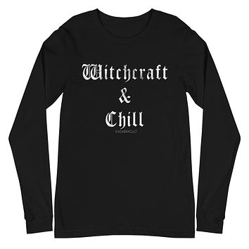 WITCHCRAFT & CHILL Unisex Long Sleeve Tee
