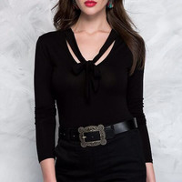 Low-Cut Strap  Slim Shirt B0013738
