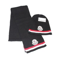 Moncler knitted hat & Scarf 007#