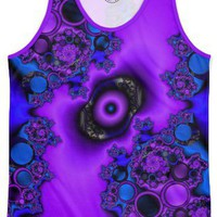 Mystic Rings Men's Echo Beach Tank by Christy Leigh | Nuvango