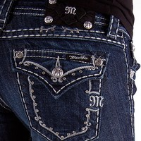 Miss Me Embroidered Boot Stretch Jean - Women's Jeans | Buckle