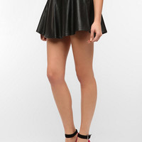 Urban Outfitters - Motel Faux Leather Studded Circle Skirt