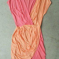 Peony Two Tone Tulip Dress [3097] - $32.00 : Vintage Inspired Clothing & Affordable Fall Frocks, deloom | Modern. Vintage. Crafted.
