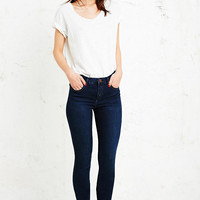 BDG Mid-Rise Ankle Cigarette Jeans in Indigo - Urban Outfitters
