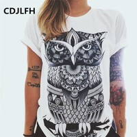 CDJLFH 2017 Summer T-Shirts Woman Designer Clothing Vibe With Me Print Punk Rock Fashion Graphic Tees European T shirt 2017 Tops