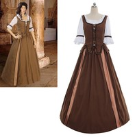 Custom Made Medieval Dress Renaissance Victorian Cosplay Costume