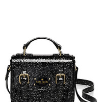 Kate Spade Kids' Glitter Scout Cross Body Black Glitter ONE