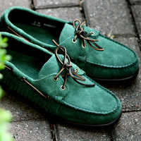Sebago Mohican Green | 7 Shoes | Ronnie Fieg x Sebago