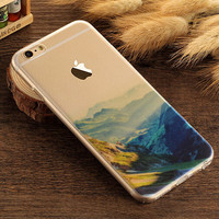 Spring Case TPU Cover for iphone 7 7 Plus & iphone 6 6s Plus & iphone se 5s + Gift Box