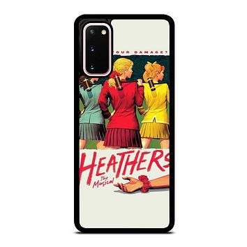 HEATHERS BROADWAY MUSICAL Samsung Galaxy S20 Case Cover