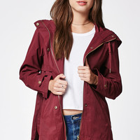 LA Hearts Peached Twill Hooded Anorak at PacSun.com