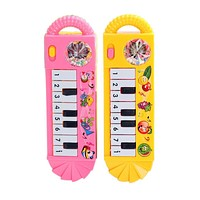 Baby Infant Toddler Developmental Toy Kids Musical Piano Early Educational Toys For Children borns Kids Toys Random Colors