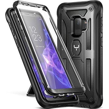 Galaxy S9 Case, Screen Protector Shockproof Case Cover
