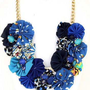 Swinging Saturday Statement Necklace