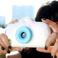Convertible Filters Camera Phone Case For iPhone 5/5S (White)