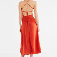 Motel Harper Backless Dress | Urban Outfitters