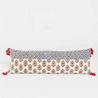 Magical Thinking Floral Block Pillow- Multi One