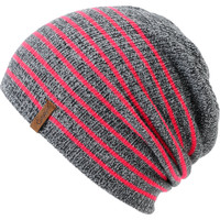 Empyre Girls Juliet Neon Pink Stripe Beanie  at Zumiez : PDP