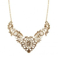 Vintage Gold Lace Effect Metal Lace.. on Luulla